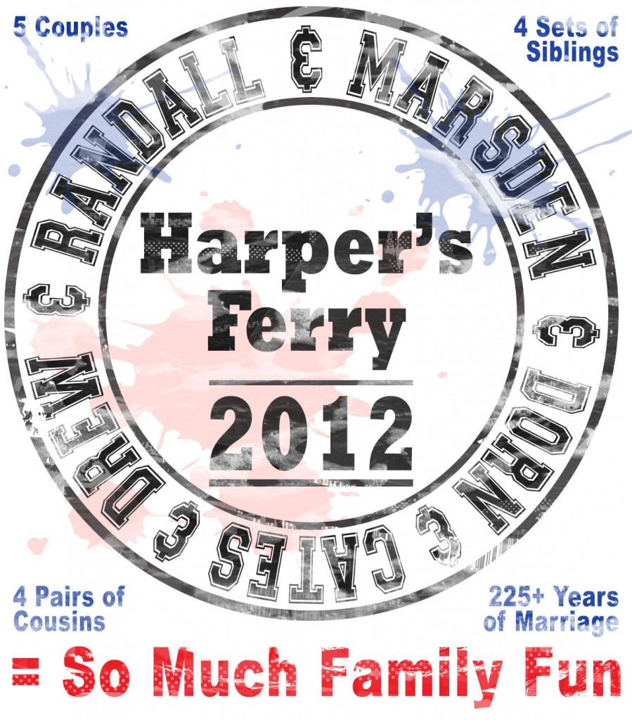 Family Reunion 2012 T-Shirt Design