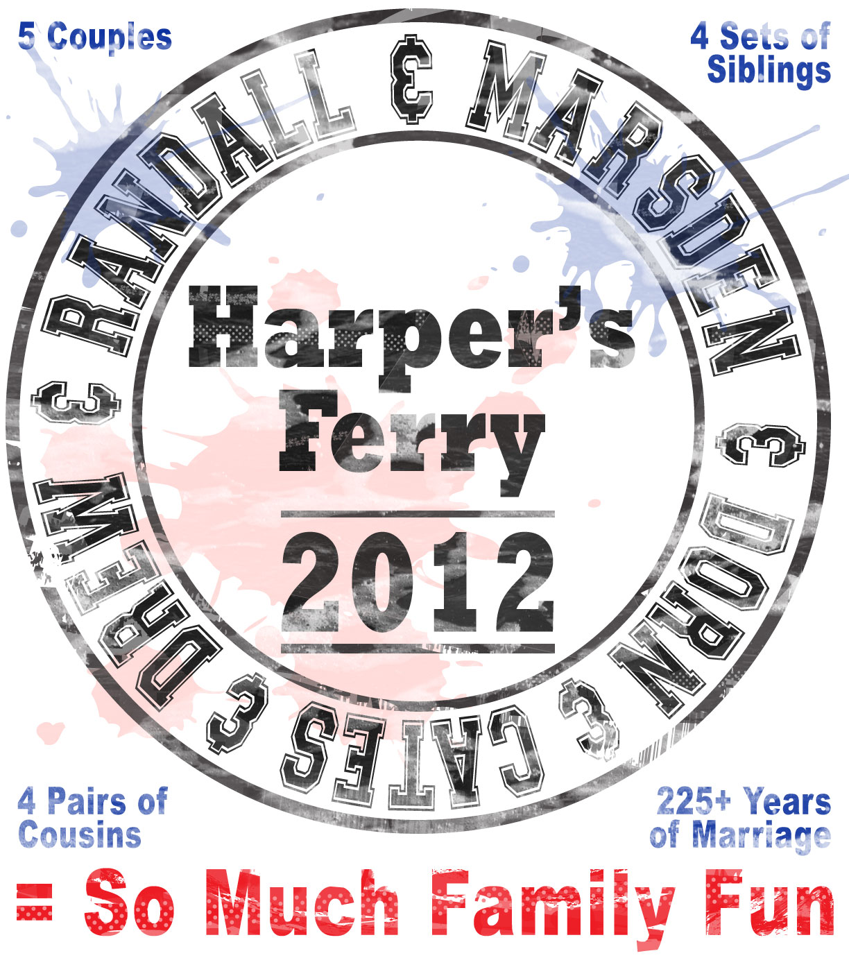 Family Reunion 2012 Logo Unveiled So Much Family Fun